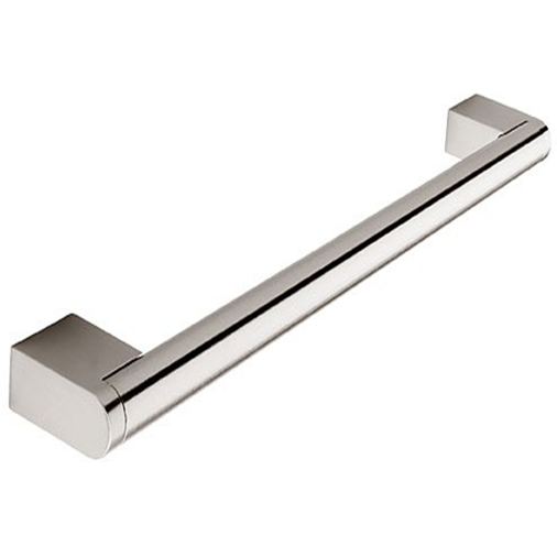 H110.237.CH Kitchen Boss Bar Handle 14mm Dia 237mm Long Chrome Image 1