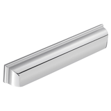 H1122.320.BN Elongated Cup Handle Square Detail 320mm Bright Nickel Image 1 Thumbnail