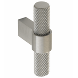 H1125.35.SS Knurled T-Bar 60mm Stainless Steel Image 1 Thumbnail