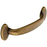 H268.96.AB Kitchen D Handle 96mm Die-Cast Antique Brass Effect Image 1 Thumbnail