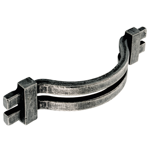 H307.128.PE Kitchen Bow Handle 128mm Pewter Image 1