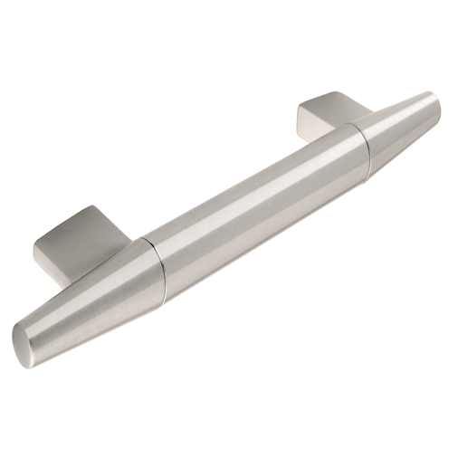 H410.224.SS Bar Handle Die-Cast Stainless Steel Effect Image 1