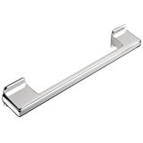 H416.160.CH Kitchen D Handle 128-160mm Die-Cast Bright Chrome Image 1 Thumbnail