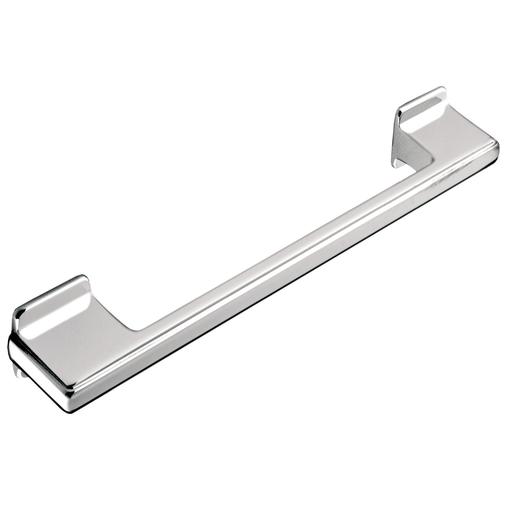 H416.160.CH Kitchen D Handle 128-160mm Die-Cast Bright Chrome Image 1