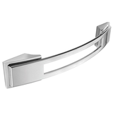 H589.128.BN Kitchen Bow Handle 128mm Bright Nickel Image 1 Thumbnail