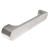 H595.224.SS  Kitchen D Handle Stainless Steel Effect Image 1 Thumbnail