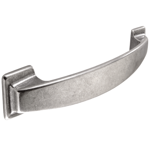 H872.128.AS Kitchen D Handle 128mm Antique Silver Effect Image 1