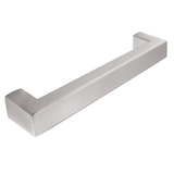 Bar Handle H918.160.SS Square Stainless Steel Image 1 Thumbnail