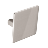 K686.32.SN Kitchen Knob Square 60mm Satin Nickel Effect Image 1 Thumbnail