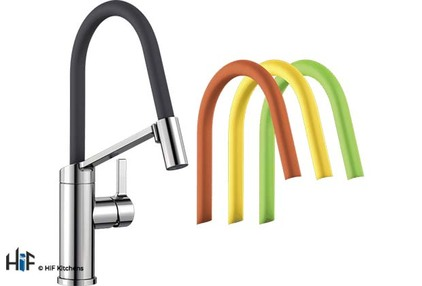 View Blanco Viu-S Chrome Kitchen Tap 524813 offered by HiF Kitchens