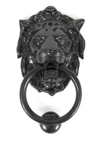 Added Black Lion Head Knocker To Basket