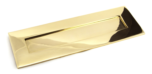 View Polished Brass Large Letter Plate offered by HiF Kitchens
