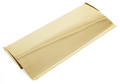 View Polished Brass Small Letter Plate Cover offered by HiF Kitchens