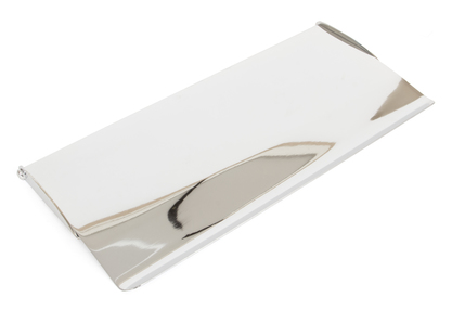 View Polished Chrome Small Letter Plate Cover offered by HiF Kitchens