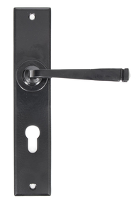 View Black Large Avon 72mm Centre Euro Lock Set offered by HiF Kitchens