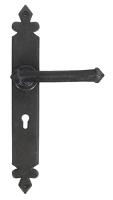 View Beeswax Tudor Lever Lock Set offered by HiF Kitchens