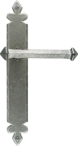 View Pewter Tudor Lever Latch Set offered by HiF Kitchens