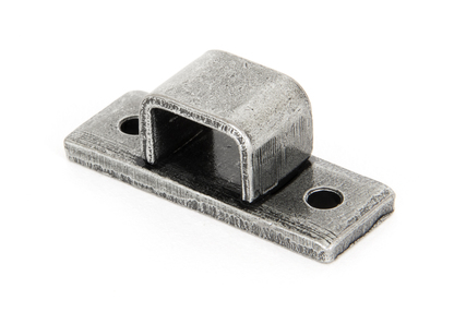 View Pewter Receiver Bridge For 6'' Straight Bolt offered by HiF Kitchens