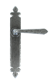 View Pewter Cromwell Lever Latch Set offered by HiF Kitchens