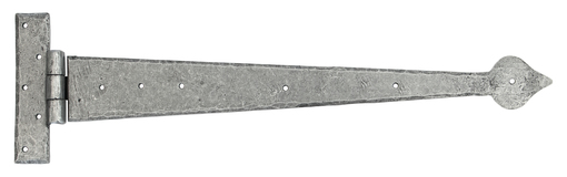 View Pewter 22'' Arrow Head T Hinge (pair) offered by HiF Kitchens