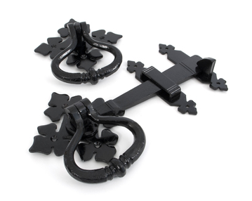 View Black Shakespeare Latch Set offered by HiF Kitchens