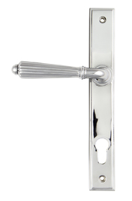 View Polished Chrome Hinton Slimline Lever Espag. Lock Set offered by HiF Kitchens