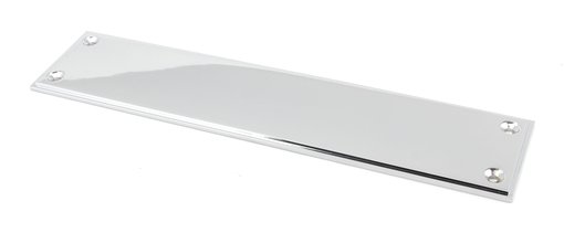 View Polished Chrome 300mm Art Deco Fingerplate offered by HiF Kitchens