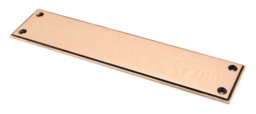 View Polished Bronze 300mm Art Deco Fingerplate offered by HiF Kitchens