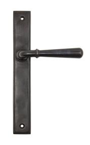 View Aged Bronze Newbury Slimline Lever Latch Set offered by HiF Kitchens