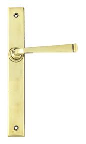 View Aged Brass Avon Slimline Lever Latch Set offered by HiF Kitchens
