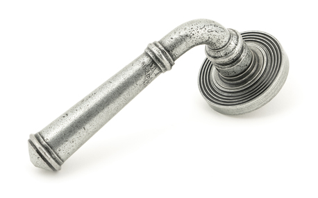 View Pewter Regency Lever on Rose Set (Beehive) offered by HiF Kitchens