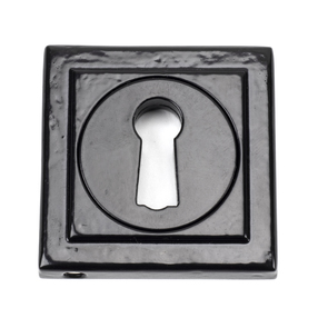View Black Round Escutcheon (Square) offered by HiF Kitchens