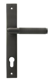 View Aged Bronze Brompton Slimline Espag. Lock Set offered by HiF Kitchens