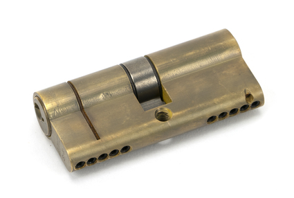 View Aged Brass 35/35 5pin Euro Cylinder offered by HiF Kitchens