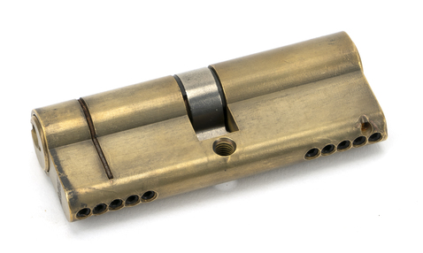 Added Aged Brass 40/40 5pin Euro Cylinder KA To Basket