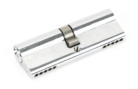 View Polished Chrome 45/45 5pin Euro Cylinder KA offered by HiF Kitchens