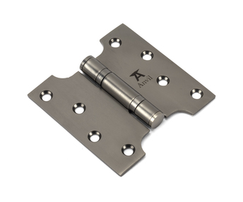 View Aged Bronze 4'' x 2'' x 4'' Parliament Hinge (pair) ss offered by HiF Kitchens