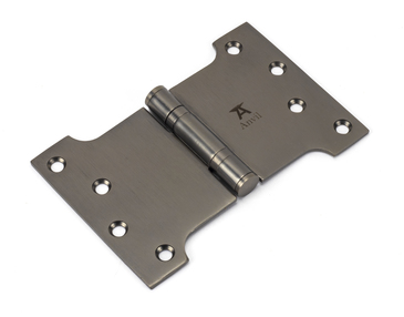 View Aged Bronze 4'' x 4'' x 6'' Parliament Hinge (pair) ss offered by HiF Kitchens
