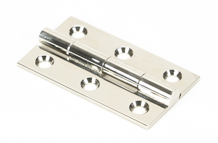 View Polished Nickel 2'' Butt Hinge (pair) offered by HiF Kitchens