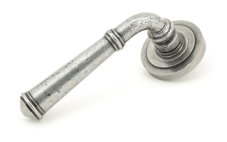 View Pewter Regency Lever on Rose Set (Art Deco) - Unsprung offered by HiF Kitchens