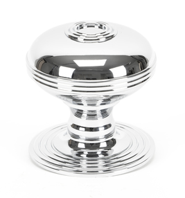 View Polished Chrome Prestbury Centre Door Knob offered by HiF Kitchens