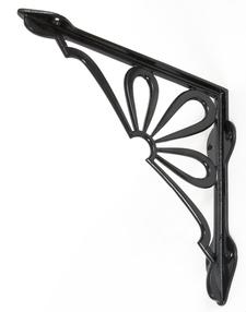 View Black 9'' x 9'' Flower Shelf Bracket offered by HiF Kitchens