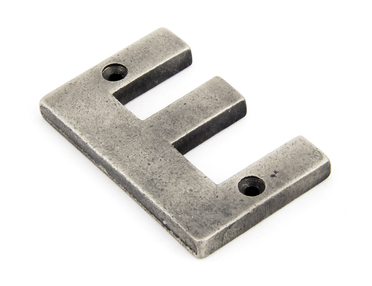 View Antique Pewter Letter E offered by HiF Kitchens