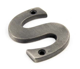 View Antique Pewter Letter S offered by HiF Kitchens