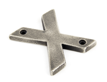 View Antique Pewter Letter X offered by HiF Kitchens
