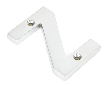 View Satin Chrome Letter Z offered by HiF Kitchens