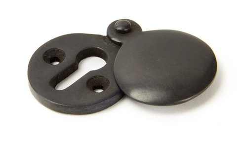 View Aged Bronze 30mm Round Escutcheon offered by HiF Kitchens