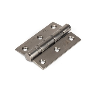 View Aged Bronze 3'' Ball Bearing Butt Hinge (pair) ss offered by HiF Kitchens