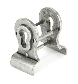 View Pewter 50mm Euro Door Pull (Back to Back fixings) offered by HiF Kitchens