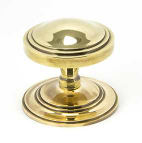 View Aged Brass Art Deco Centre Door Knob offered by HiF Kitchens